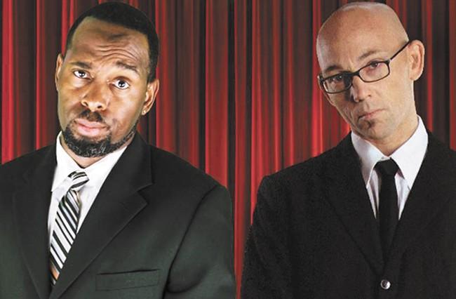 Ty Barnett (left) and Ian Harris.