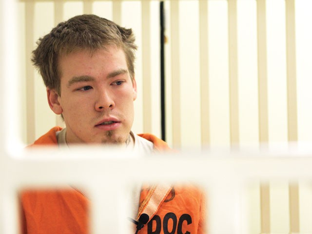 Tyler Gassman is serving 25 years for a crime he says he didn't commit. - YOUNG KWAK PHOTO