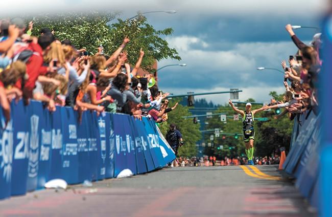 The Ironman 70.3-mile triathlon is set to run on Sunday, June 24.