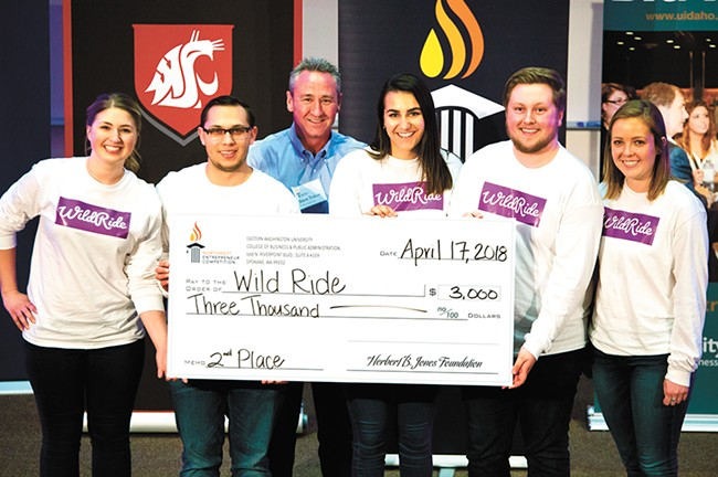 A team of Gonzaga students, now alumni, developed the new dining app WildRide.