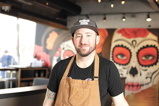Visit Travis Dickinson's Cochinito Taqueria on July 22 for a a tequila and mezcal pairing dinner. - YOUNG KWAK