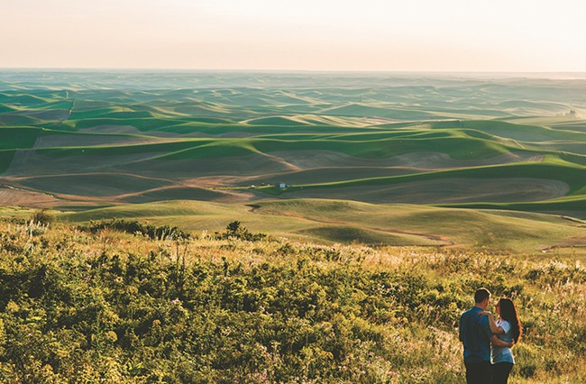 Kyndall Elliott's photo of Steptoe Butte.