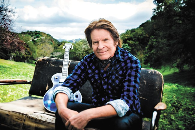 Rock legend John Fogerty hits Northern Quest next week; bring a nickel, tap your feet. - MYRIAM SANTOS PHOTO