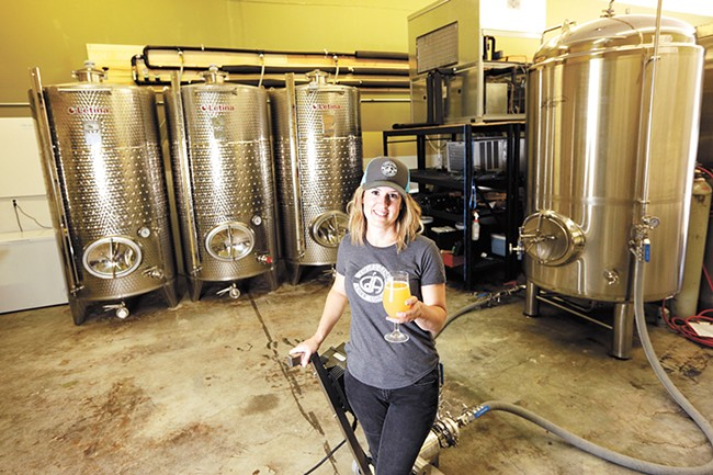 Coeur d'Alene Cider's Jill Morrison is part of a growing trend. - YOUNG KWAK
