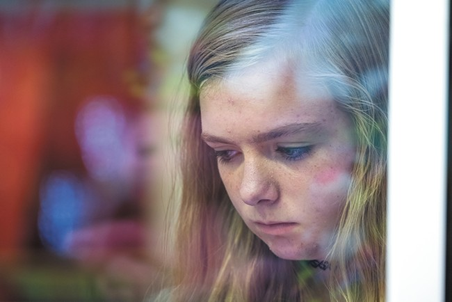 Elsie Fisher beautifully communicates the social horrors of adolescence in comedian Bo Burnham's terrific directorial debut Eighth Grade.