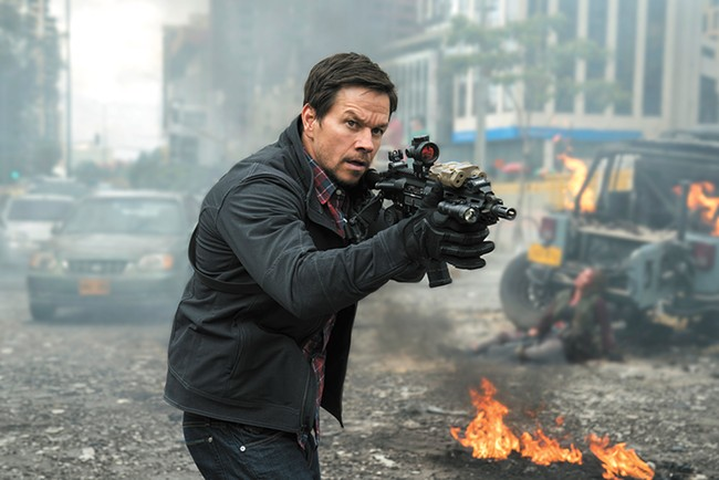 We're pretty sure Marky Mark is supposed to be the hero of Mile 22, so why is he so insufferable?