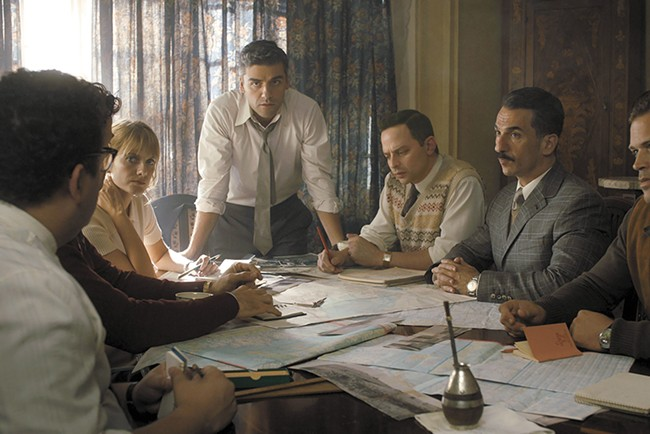 Operation Finale stars Oscar Isaac as a real-life Nazi hunter.