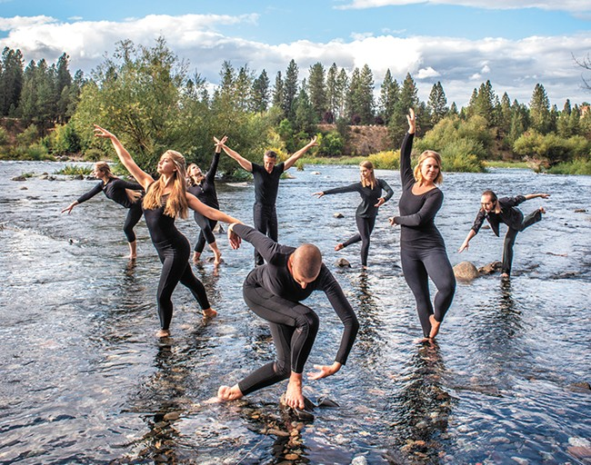 The Vytal Movement Dance Company is helping lead a dance resurgence in the Inland Northwest. - IRA GARDNER