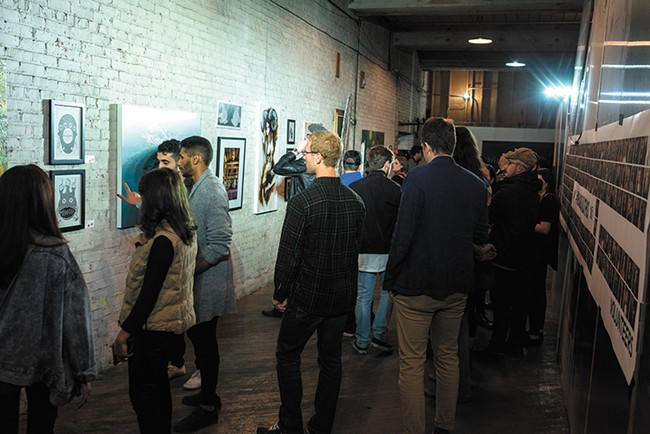 Terrain's biggest event draws thousands to check out local art every fall. - HECTOR AIZON PHOTO