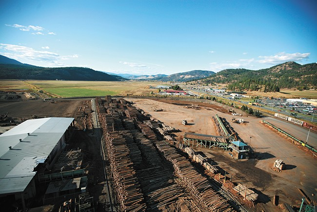 The Colville-based Vaagen Brothers Lumber company struggled during the recession, but has bounced back thanks to state and federal partnerships, as well as new technologies. - YOUNG KWAK