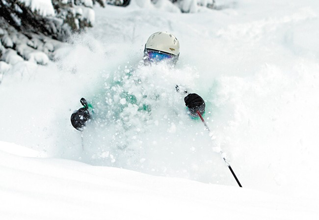 Brundage has made it easier to get the scoop on conditions with its new mountain app, which includes webcams, weather reports and real-time snowfall data. - BRUNDAGE MOUNTAIN RESORT PHOTO
