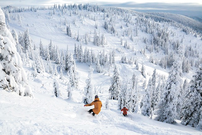 This season will mark the second year of Whitefish's relocated East Rim chair, creating the ability to lap some of the mountain's finest terrain.