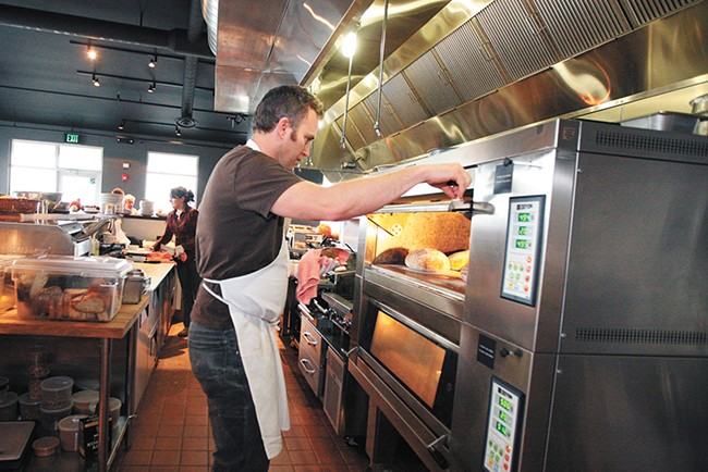 Learn to make artisan bread with Central Food chef-owner David Blaine. - YOUNG KWAK