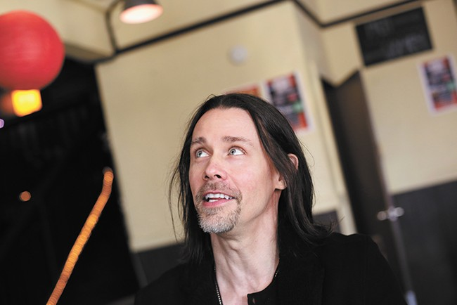 """Growing up, Myles Kennedy says, playing guitar """"was oxygen for me."""" - YOUNG KWAK"""