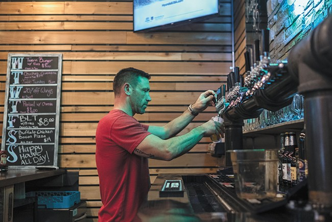 Hop Mountain focuses on a hyper-local craft beer selection. - HECTOR AIZON PHOTO