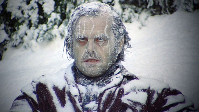 For some of us, The Shining is better than A Christmas Story as seasonal fare.