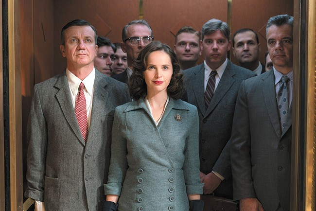 Surely Ruth Bader Ginsburg deserves a more complex, thoughtful biopic than On the Basis of Sex.