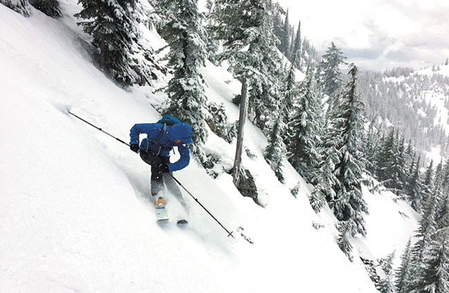 Mike Brede, along with Larry Banks, started an online community for people to meet and share information on the local backcountry scene at panhandlebackcountry.com. - LARRY BANKS PHOTO