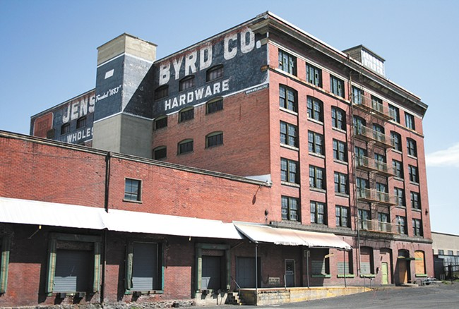 Eight years ago, WSU-Spokane was looking at replacing the Jensen-Byrd building with apartments. Today, the building is still vacant. - YOUNG KWAK
