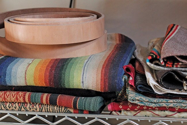 Westward Leather Company products. - CARRIE SCOZZARO PHOTO