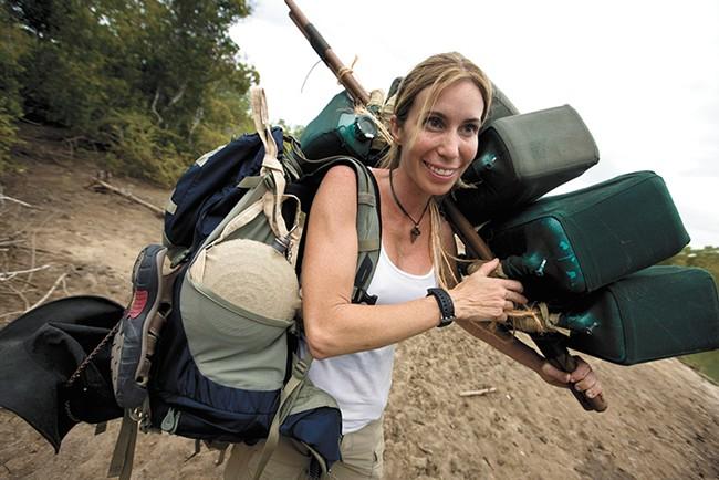 "Dr. Mireya Mayor has been called the ""female Indiana Jones."" - BRENT STIRTON PHOTO"