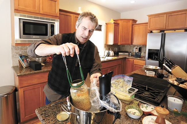 French-born chef Laurent Zirotti uses sous vide at home and in his Post Falls restaurant. - YOUNG KWAK PHOTO