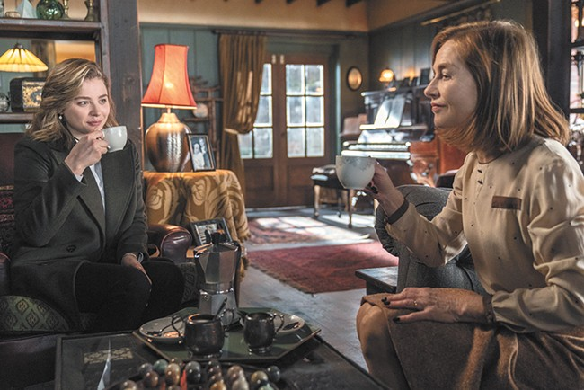 Neil Jordan's art-trash shocker Greta is a showcase for Isabelle Huppert as the world's most genteel psychopath.