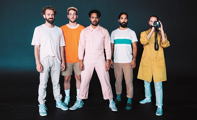 Young the Giant, performing at the Knitting Factory on Friday, are amongst the bands we rank in this article about articles. - WESLEY YENCOPY PHOTO