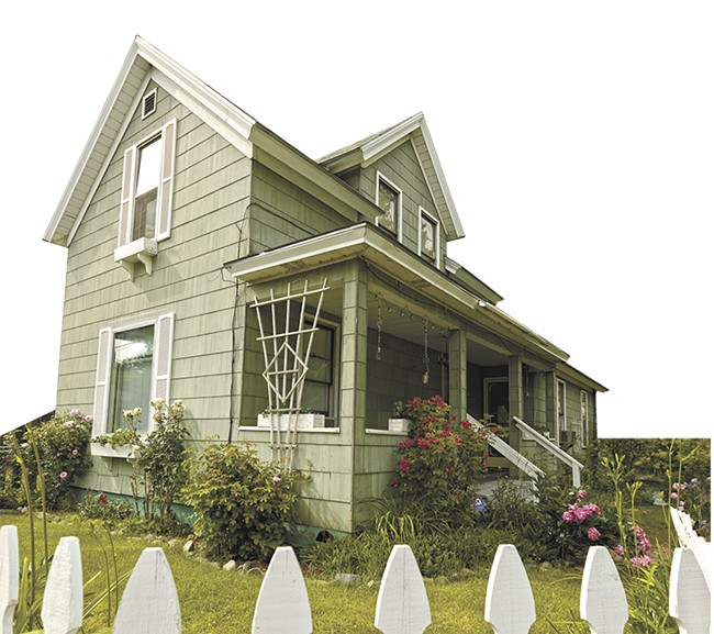 The Peaceful Valley home was used for exterior shots of Benny & Joon. - YOUNG KWAK