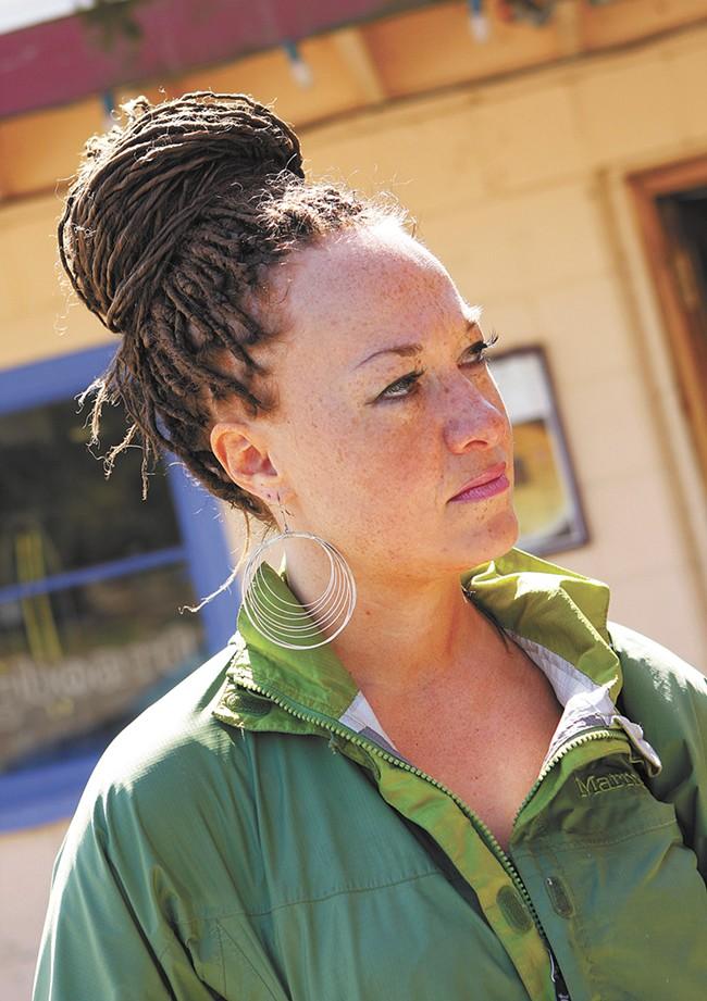 Rachel Dolezal, 2010, in Coeur d'Alene. - YOUNG KWAK