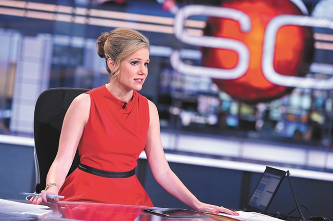 ESPN's Jaymee Sire, a WSU alum, is set to anchor SportsCenter when it goes live on Sunday morning from Hoopfest.