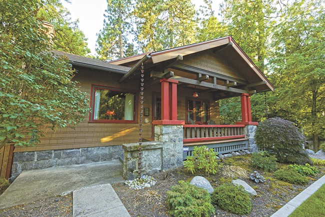 Craftsman homes, epitomized by the work of Greene and Greene out of California, emphasized decorative restraint, structural honesty and solid workmanship, as seen in this Spokane house owned by Kevin and Janet Conway.