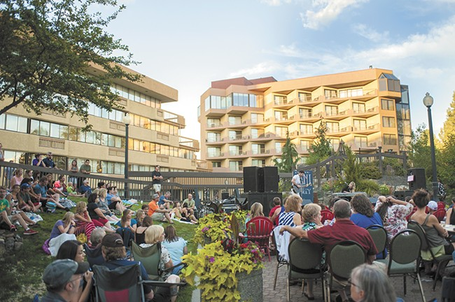 The Sweeplings perform as part of last weekend's Red Lion Hotel at the Park concert series. - AUSTIN ILG PHOTO