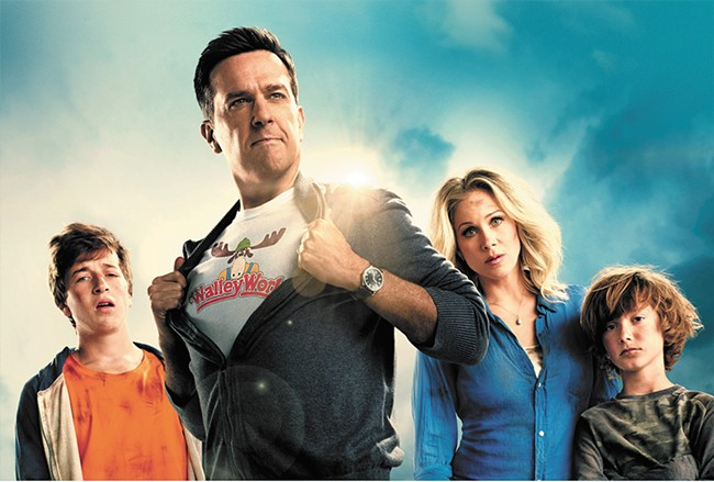 Ed Helms leads the latest Griswold family adventure.