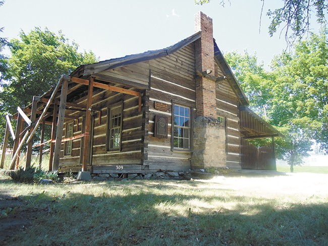 The town's oldest building, built in 1868. - CHEY SCOTT