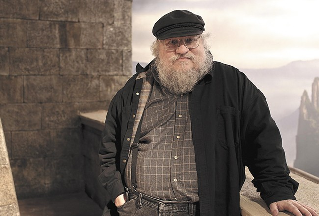 Game of Thrones author George R.R.  Martin comes to Spokane this weekend.