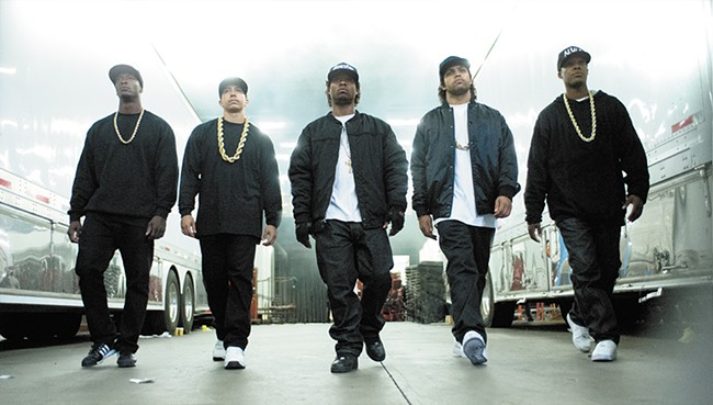"""N.W.A. was once considered """"the world's most dangerous group."""""""