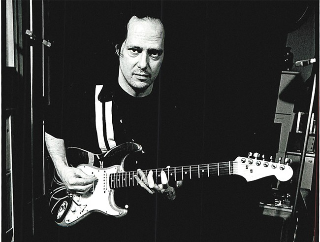 Punk legend Richard Lloyd brings his fuzzy and fluid guitar skills to the Bartlett as part of a short Northwest tour. - GODLIS PHOTO