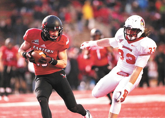 EWU's All-American wide receiver Cooper Kupp
