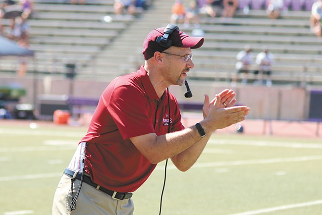 Whitworth head coach Rod Sandberg enters his second year with the Pirates.
