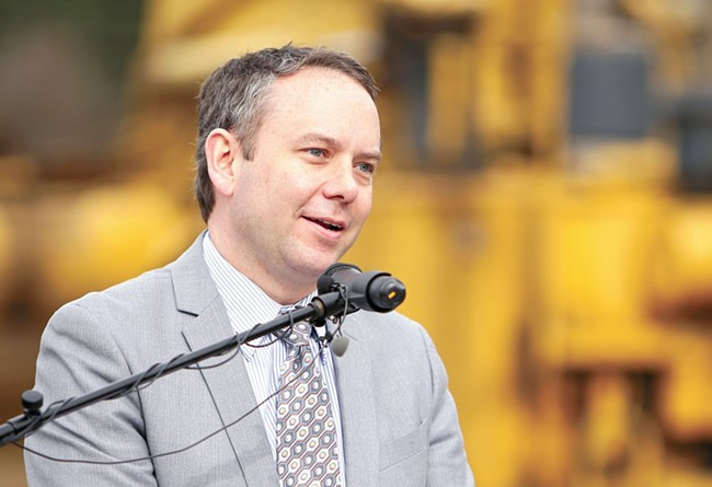 Spokane Mayor David Condon outlined his projected $810 million budget for the city this week.