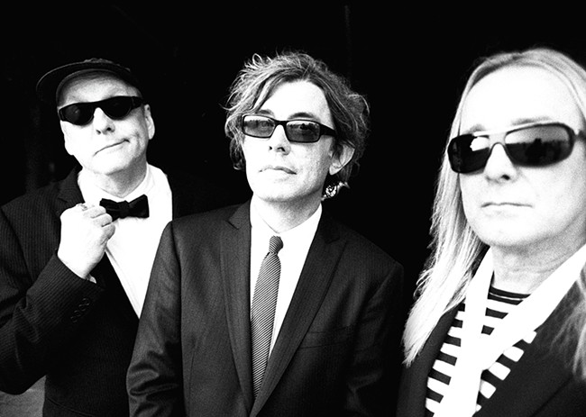 The three original members of Cheap Trick have mostly been at it since 1974.