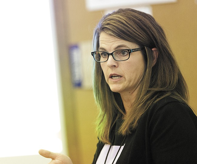 Law and Justice Council administrator Jacqueline van Wormer is leading the push to reform pretrial programs. - YOUNG KWAK
