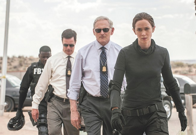Emily Blunt goes up against the War on Drugs in Sicario..