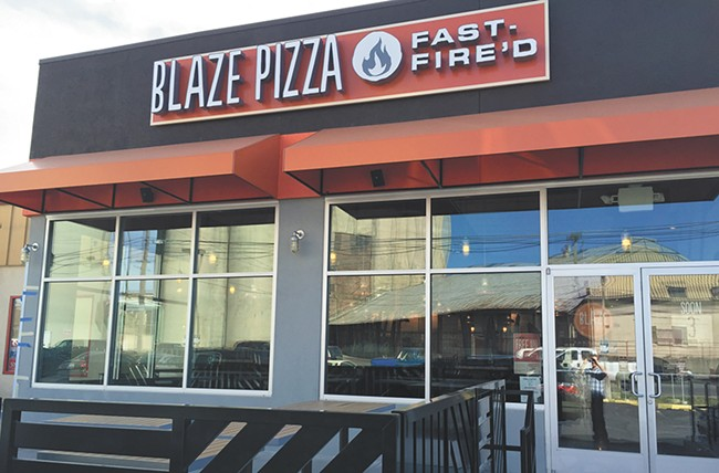 Blaze Pizza opened its first Inland Nortwest shop last month. - MAX CARTER