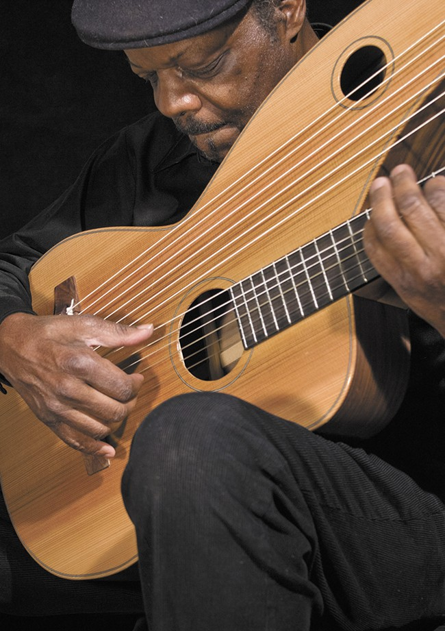 Leon Atkinson is bringing big-time guitarists to The Bing.
