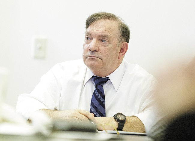 Larry Haskell embraced Smart Justice principles during his campaign for county prosecutor, but now defense attorneys say he's cracking down on juveniles in ways his predecessor didn't. - YOUNG KWAK
