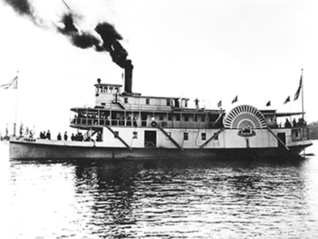 The Idaho could ferry 1,000 passengers. - MUSEUM OF NORTH IDAHO