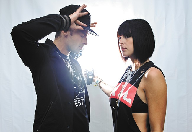 Phantogram's Josh Carter and Sarah Barthel
