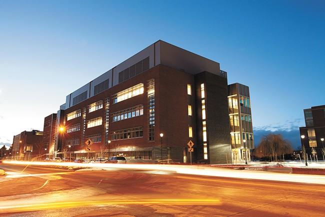 Part of WSU's Spokane campus, expanded under former president Elson Floyd.